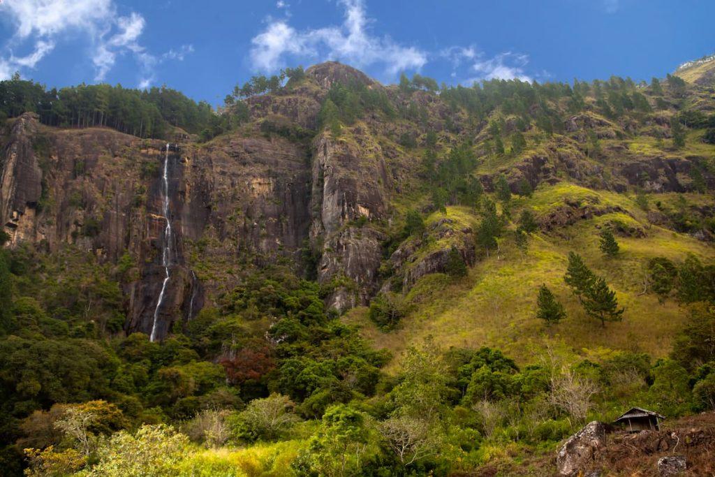 Cascade de Diyaluma sri lanka