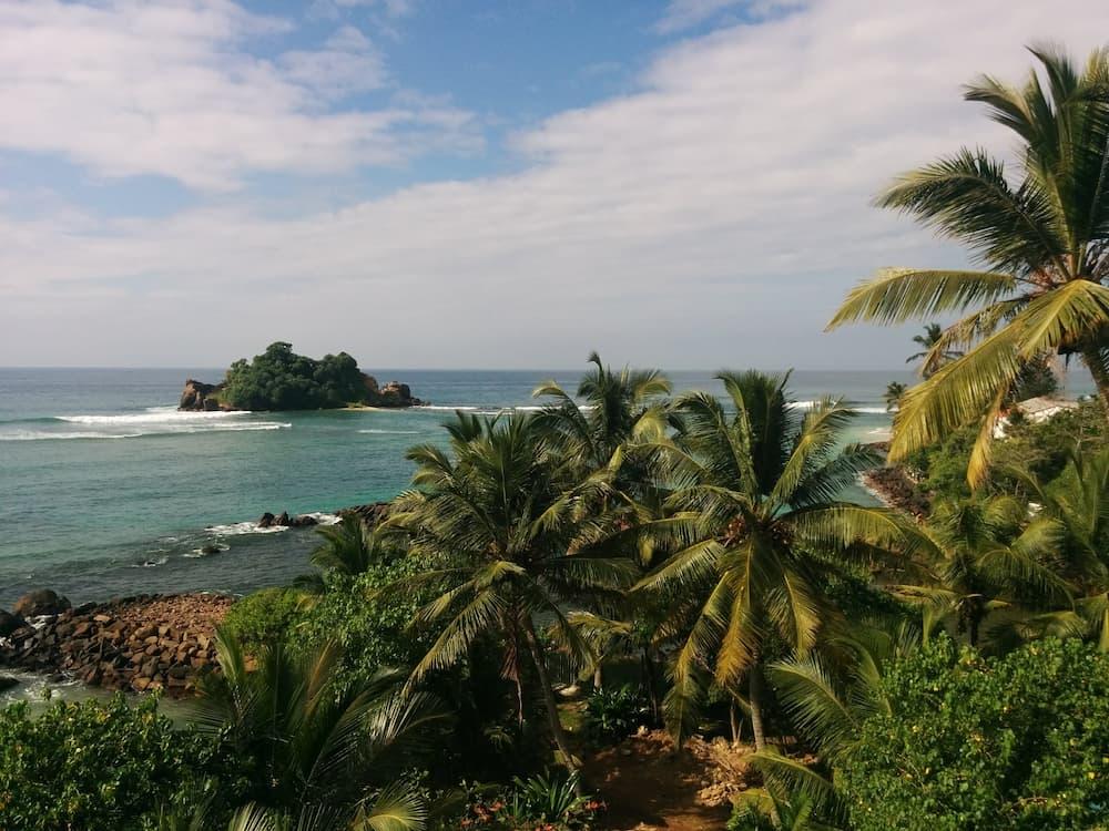 Mirissa paysage Sri Lanka