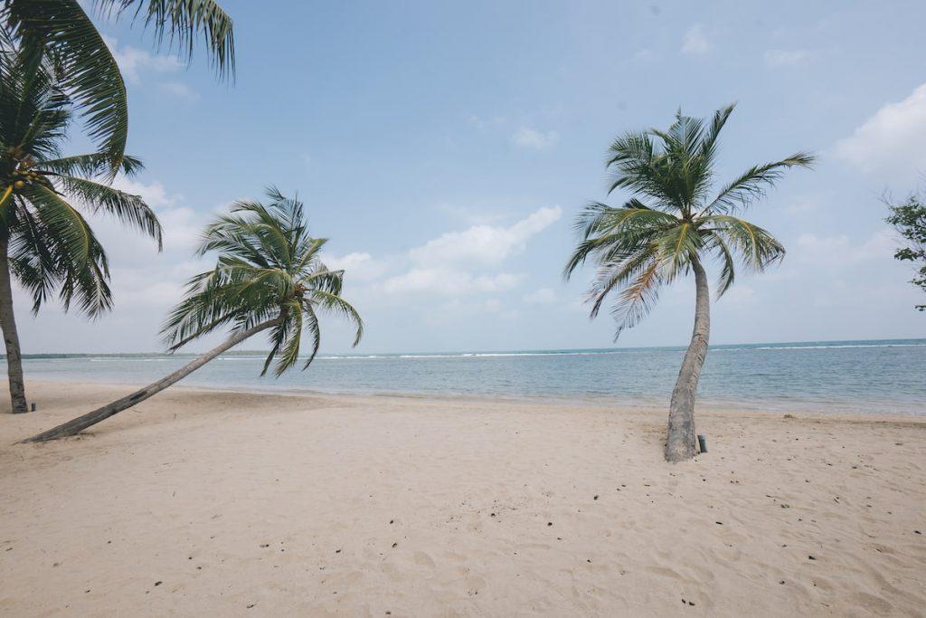 pasikudah plage au Sri Lanka