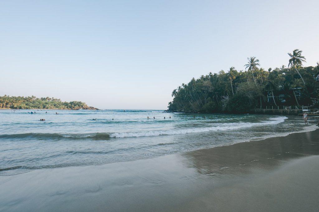 plage hiriketiya Sri Lanka