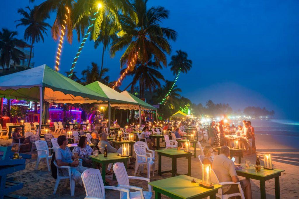 bars et restaurant à mirissa sri lanka
