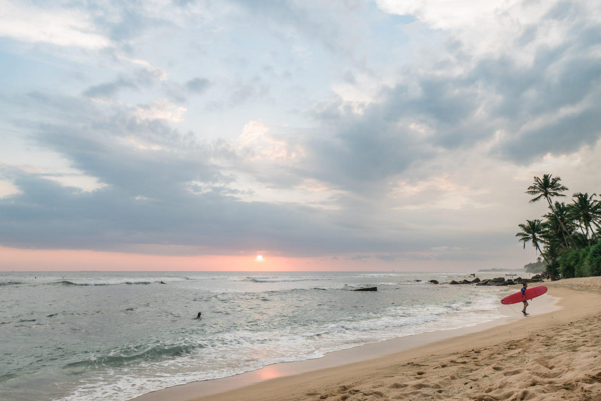 plage sud Sri Lanka