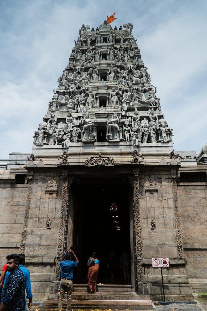 temple hindou à colombo