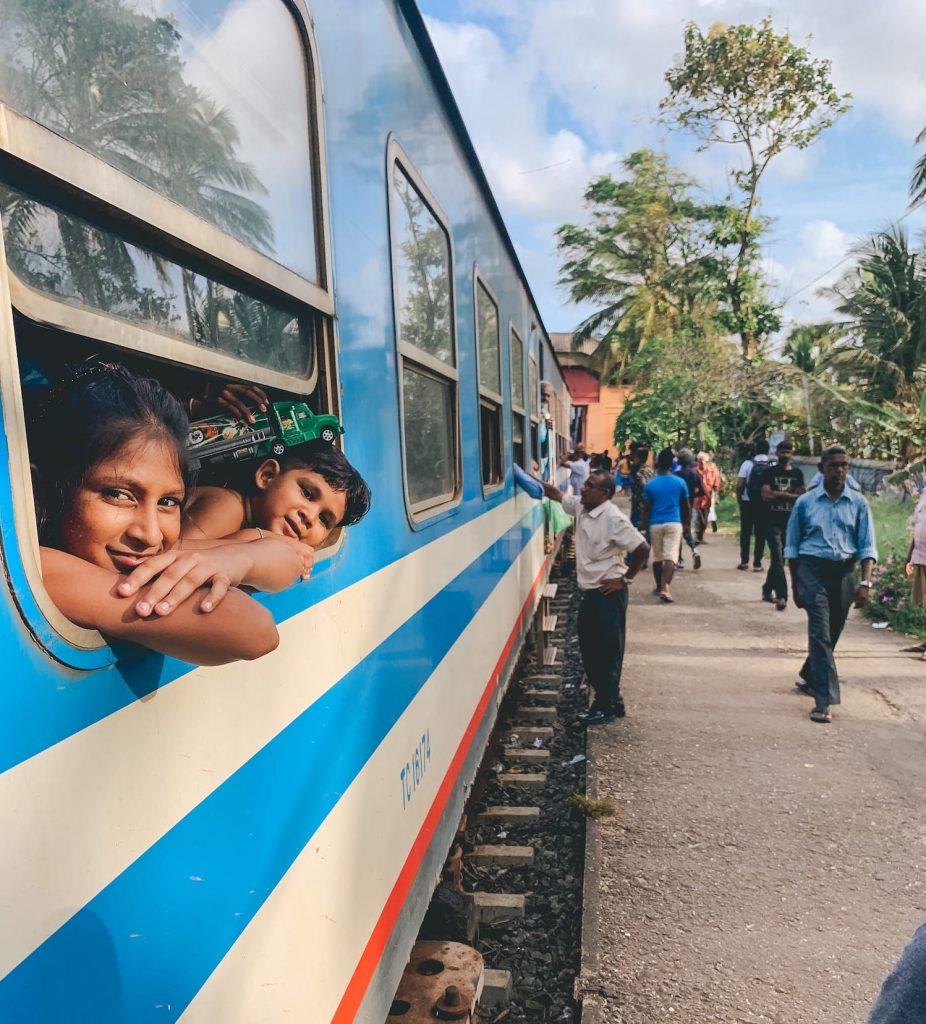 portrait train