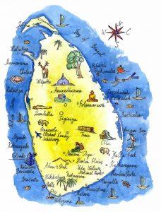 carte Sri Lanka
