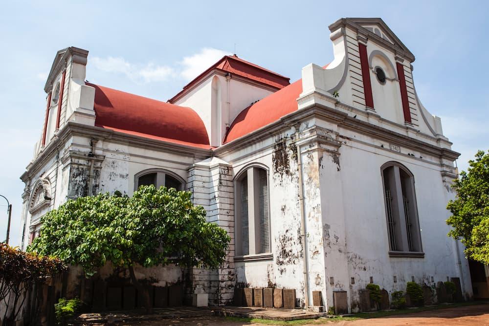 Wolvendaal Church - Église réformée néerlandaise à colombo