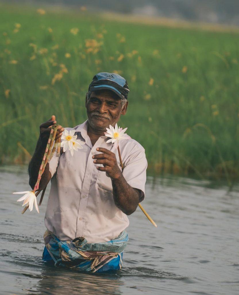 sri lankais à Arugam Bay